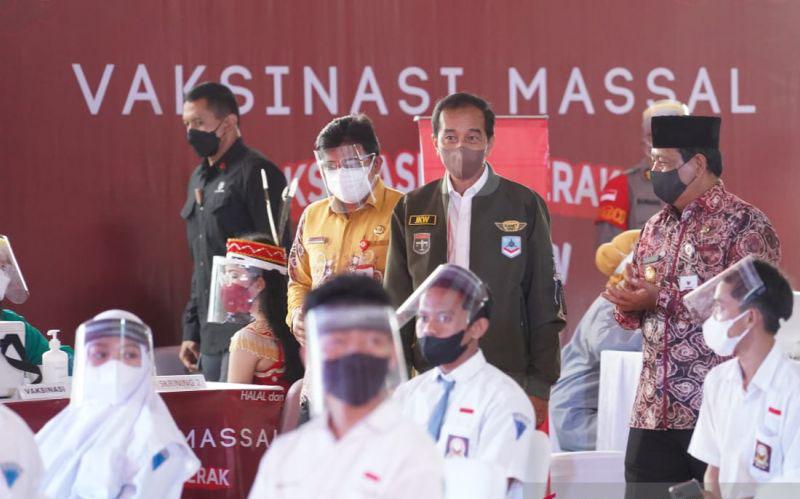 70 juta penduduk Indonesia terima vaksin COVID-19 dosis lengkap