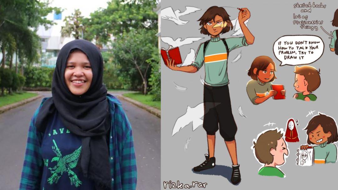 Remaja asal Makassar menang Lomba Komik Dunia dengan Superhero 'Cipta'