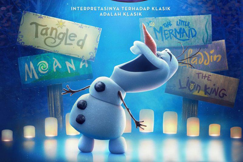 Serial pendek `Olaf Presents` tayang 12 November