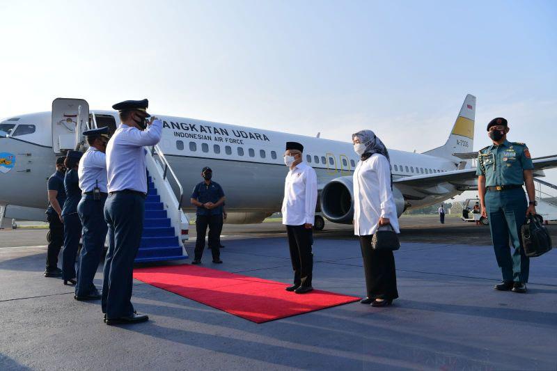Wapres melakukan kunjungan kerja ke Provinsi Maluku