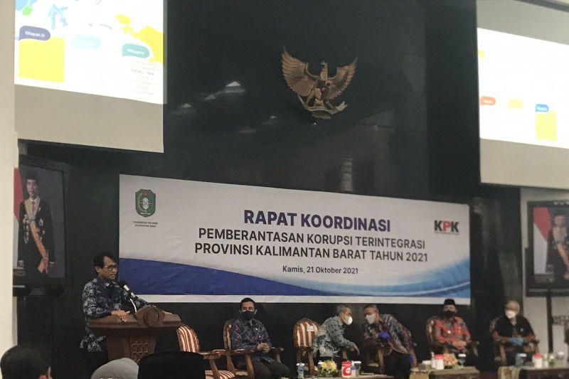 KPK terima sejumlah laporan korupsi di Kalimantan Barat