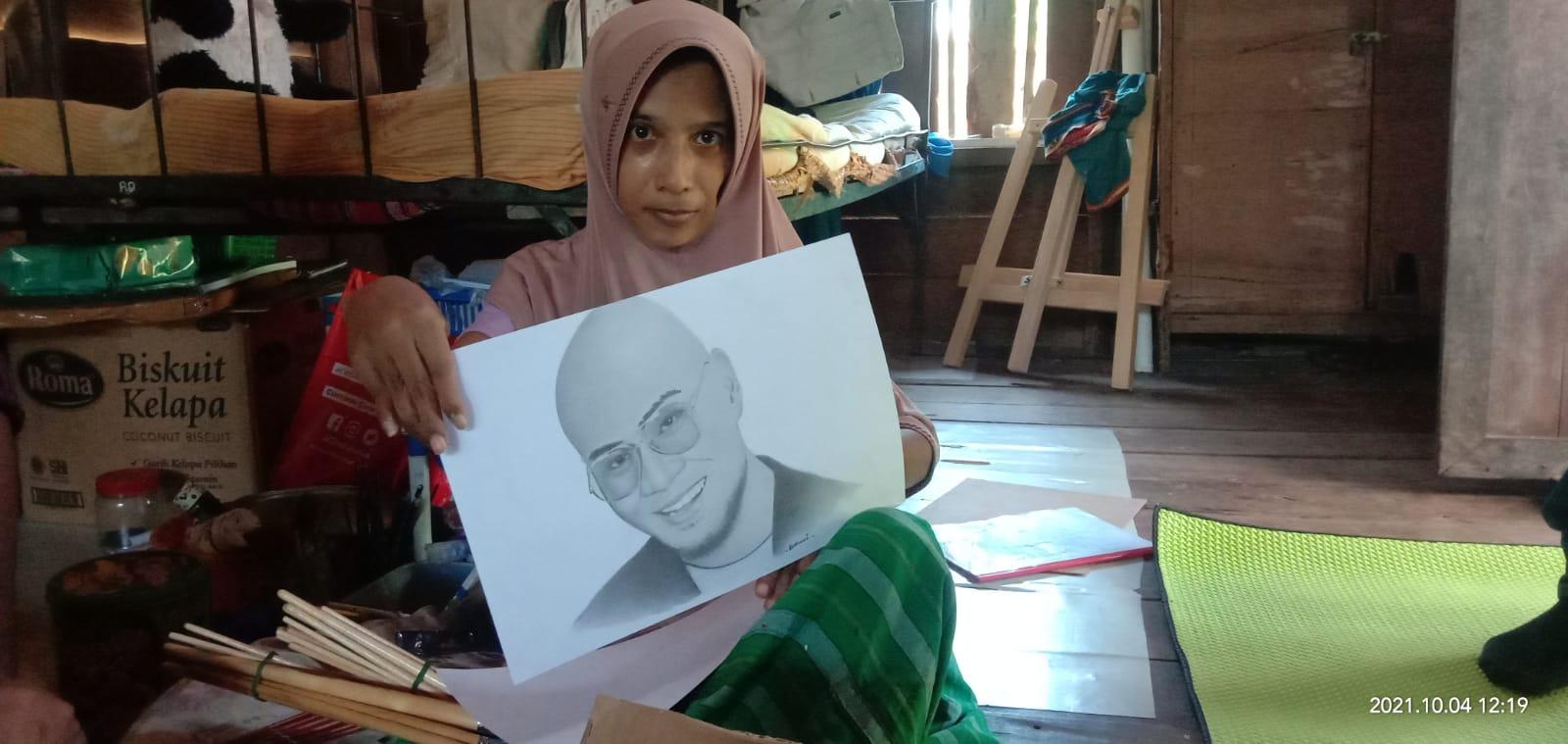 Mimpi Rohani, pelukis disabilitas, berharap karyanya `Go Internasional`