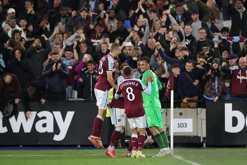 West Ham kubur mimpi City juarai Piala Liga lima musim beruntun