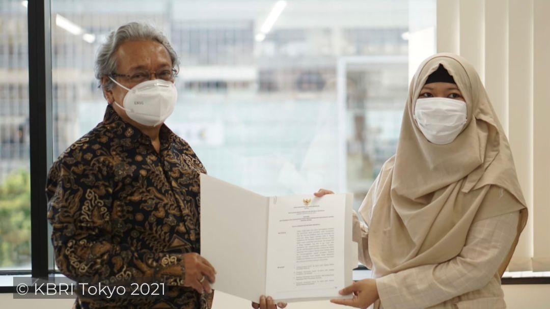 Dubes Heri Akhmadi resmikan PKBMketiga di Jepang