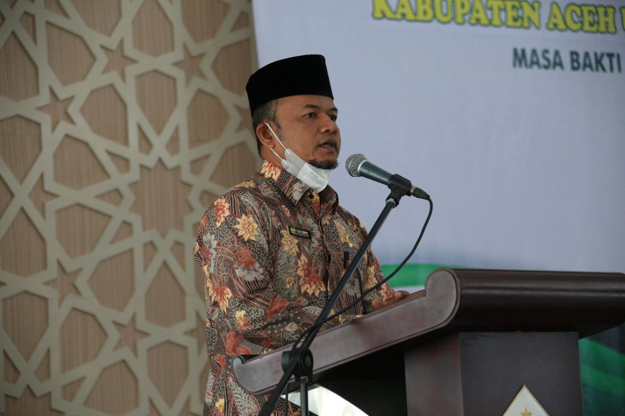 Wabup Fauzi Yusuf minta Badan Wakaf Indonesia selamatkan harta agama