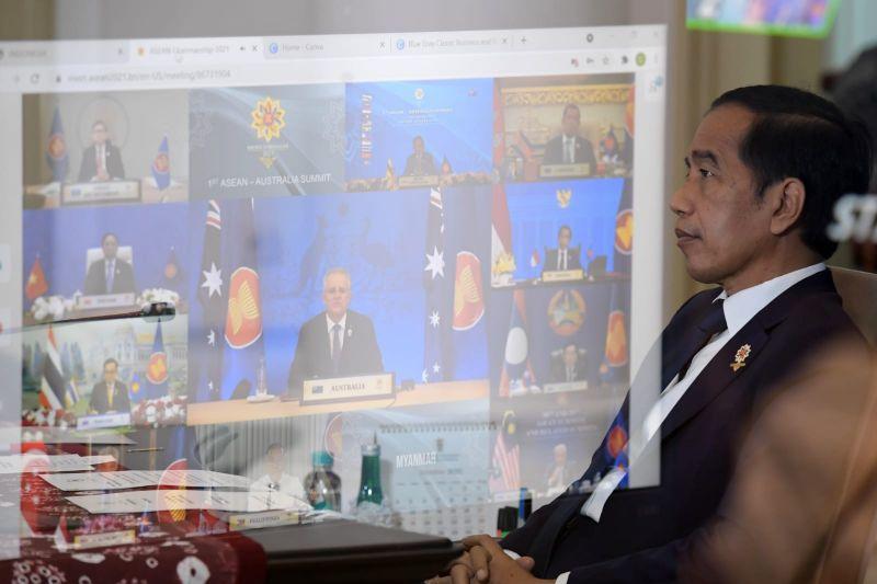 Presiden Jokowi dorong ASEAN-Australia terus bangun kepercayaan