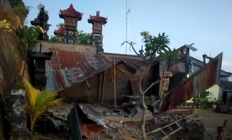 Dampak gempa Karangasem dan Bangli, bangunan rusak dan korban jiwa