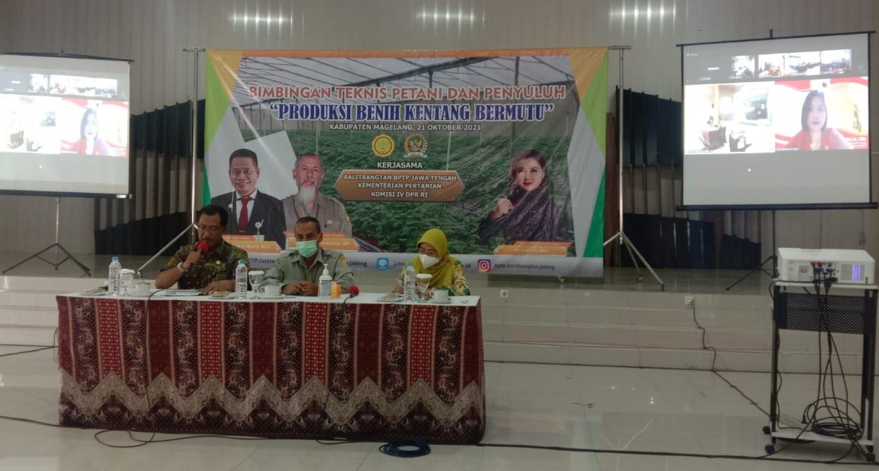 Komisi IV DPR kembangkan percontohan teknologi pertanian di Magelang