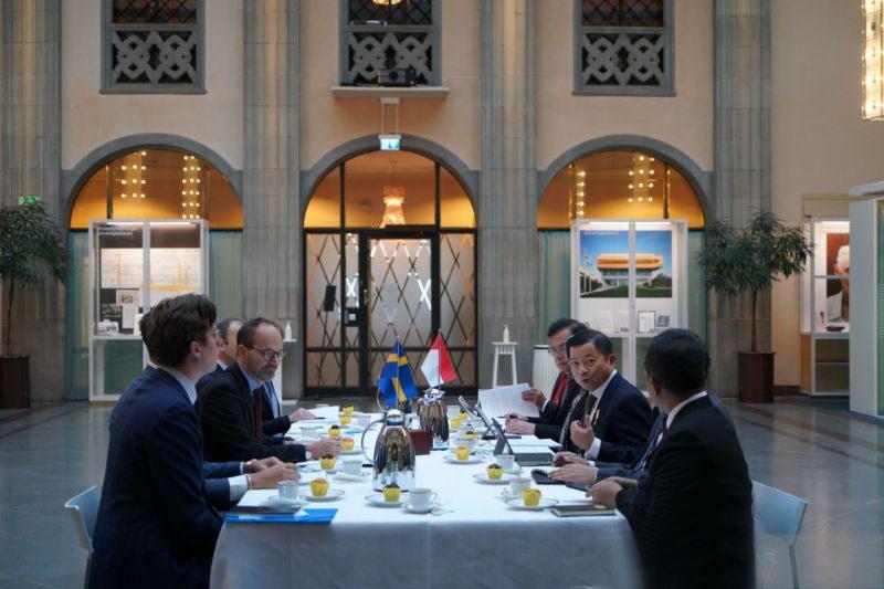 Indonesia-Swedia sepakati ekonomi biru sebagai sumber pertumbuhan