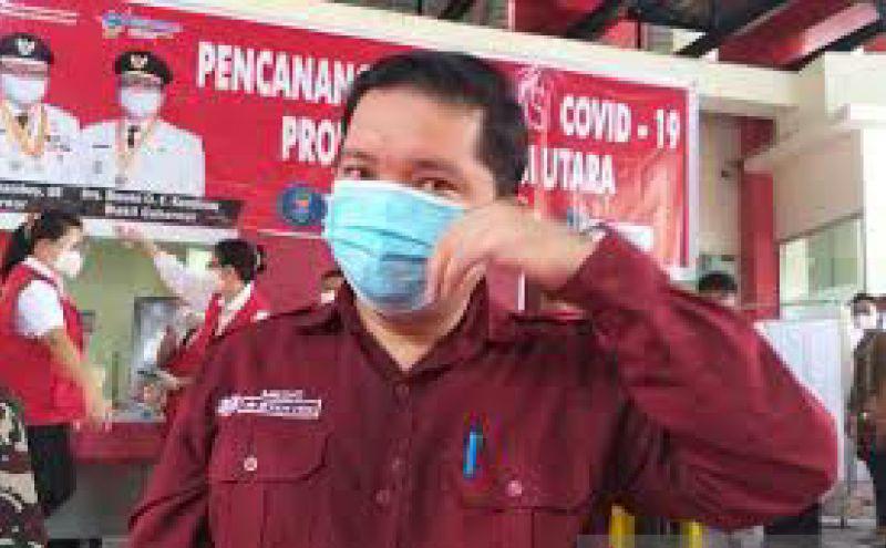 Manado terbanyak sebaran COVID-19 di Sulawesi Utara