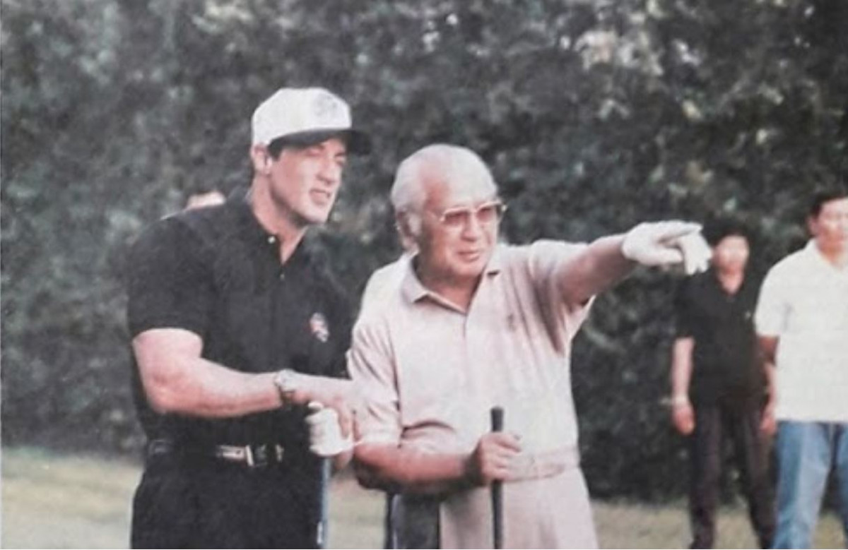 21 Oktober 1994: Suharto kalahkan Sylvester Stallone di lapangan golf