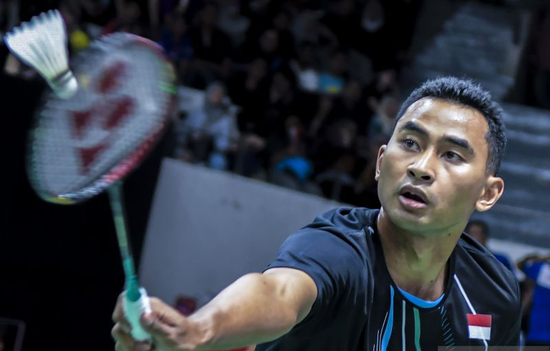Jonatan mundur, semifinal tunggal putra Denmark Open sisakan Tommy
