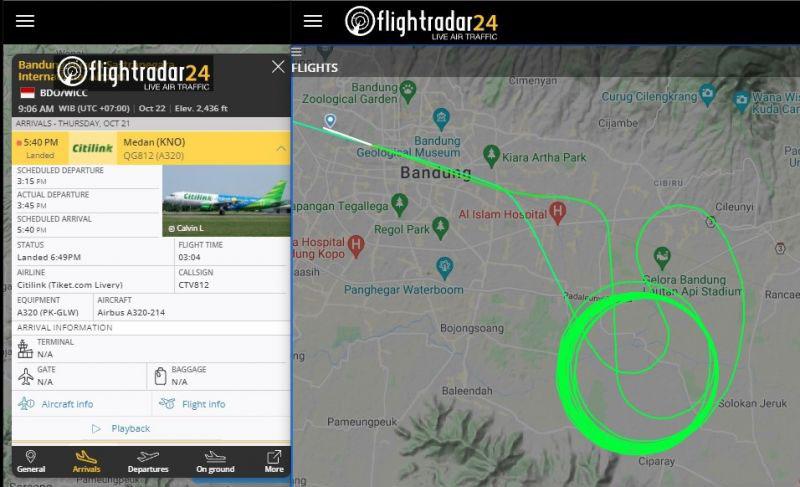 Bandara Husein sebut pesawat berputar saat cuaca ekstrem lazim terjadi