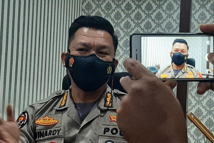 Polisi temukan selongsong peluru di Pospol Aceh usai ditembak OTK