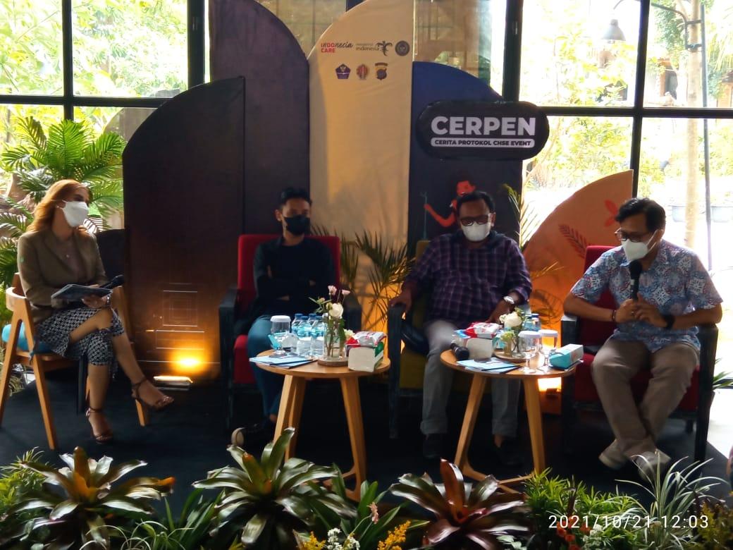 Bangkitkan bisnis event di Yogya, Kemenparekraf sosialisasikan CHSE CERPEN