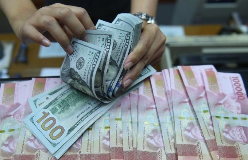 Rupiah menguat tajam pasca rilis data inflasi AS