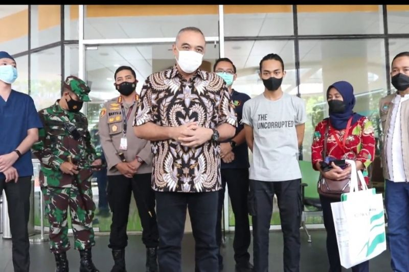 Bupati Tangerang jemput mahasiswa korban kekerasan oknum polisi