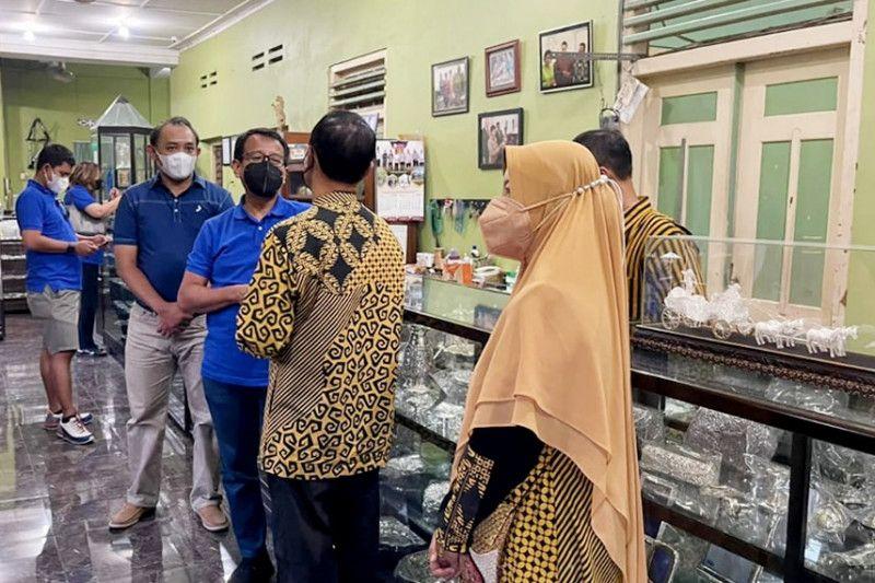 Jamkrindo dukung pengembangan kerajinan perak di Yogyakarta