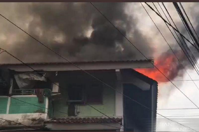 Kebakaran terjadi di Rusun Tanah Tinggi Jakarta Pusat