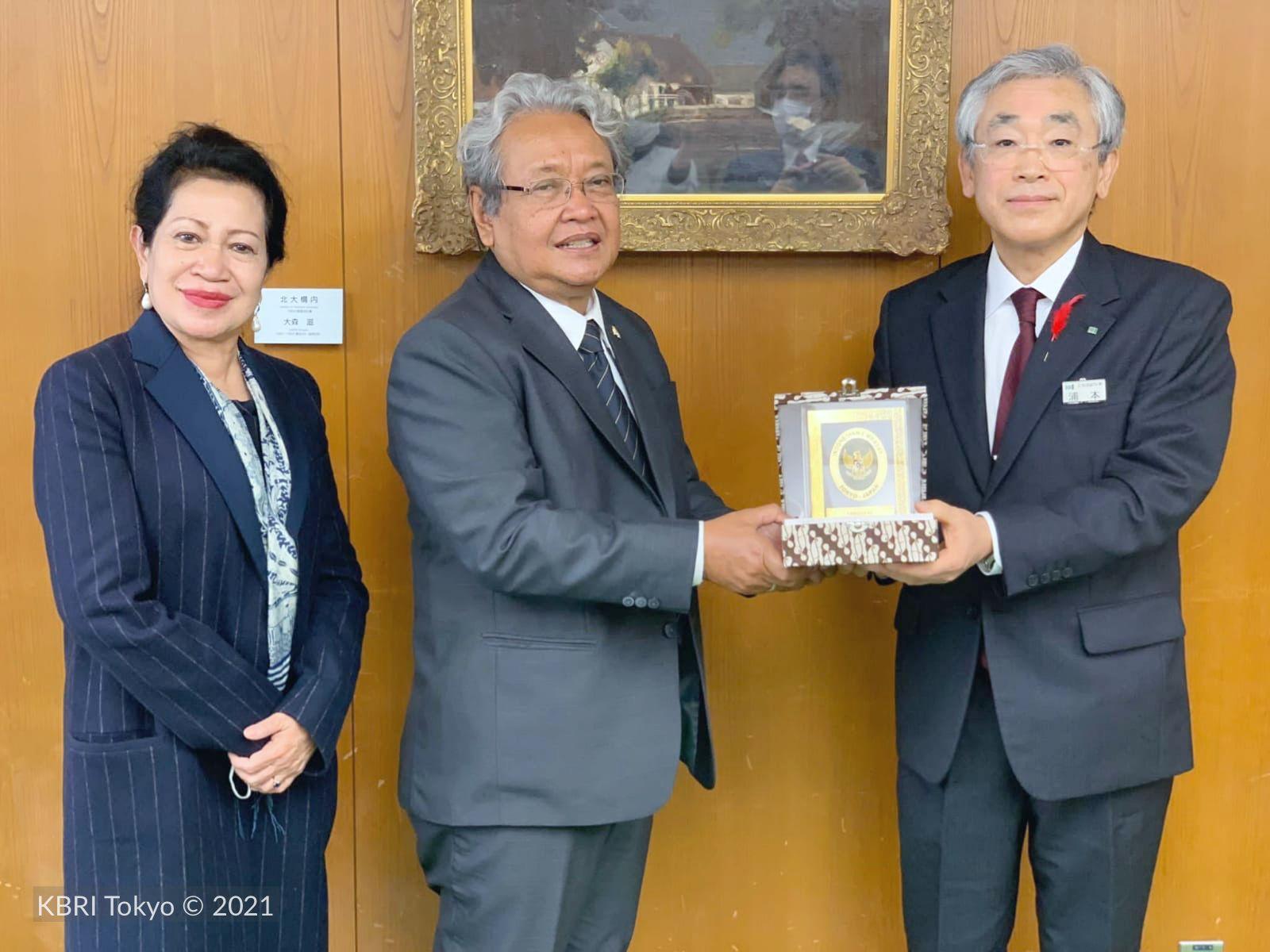 Dubes Heri ajak Prefektur Hokkaido Jepang manfaatkan kemudahan investasi di Indonesia