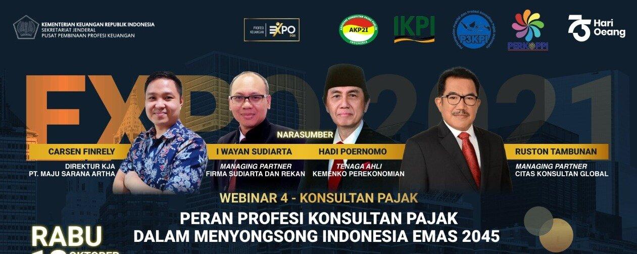 Peran konsultan pajak jelang bonus demografi, Indonesia Emas 2045