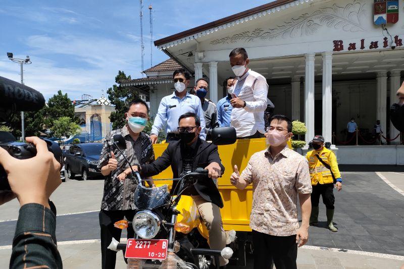 DLH Kota Bogor beli 68 gerobak bermotor atasi tumpukan sampah