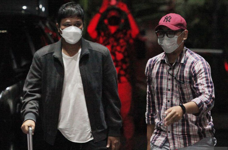 KPK periksa Bupati Kuansing sebelum ditahan