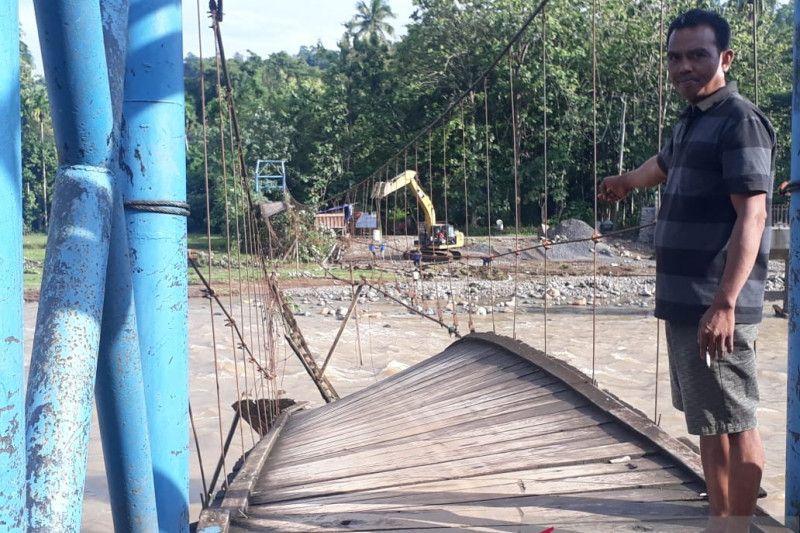 Tiga desa di Ogan Komering Ulu diterjang banjir bandang