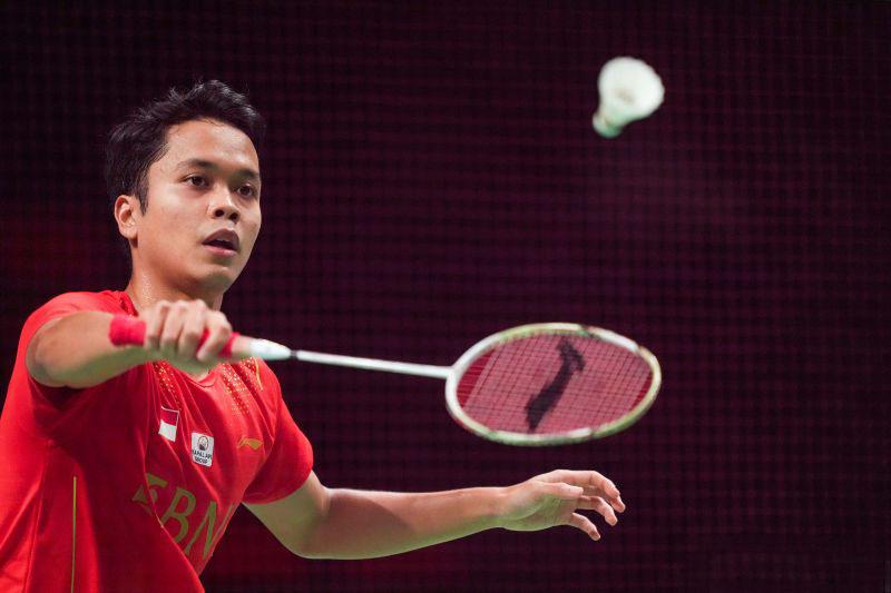 Ginting dan Shesar terhenti di babak pertama Denmark Open 2021