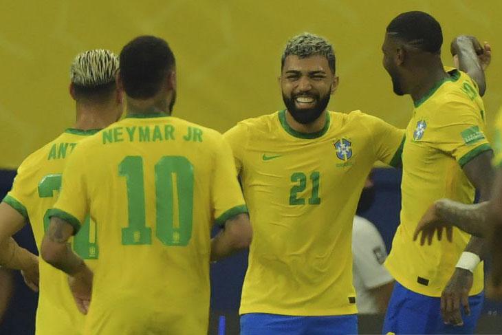 Brazil libas Uruguay dengan skor 4-1