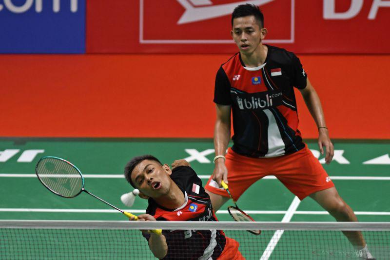Fajar/Rian ganda putra keempat lolos ke 16 besar Denmark Open