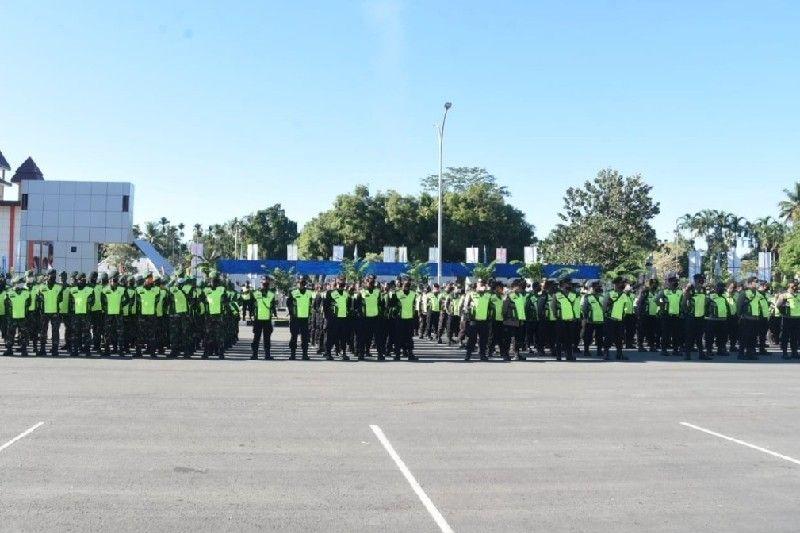 2.891 aparat gabungan dikerahkan amankan penutupan PON Papua