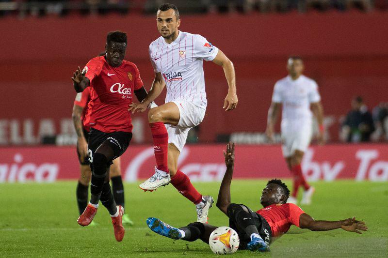 Sevila berbagi poin dengan Mallorca saat Real Betis libas Valencia 4-1