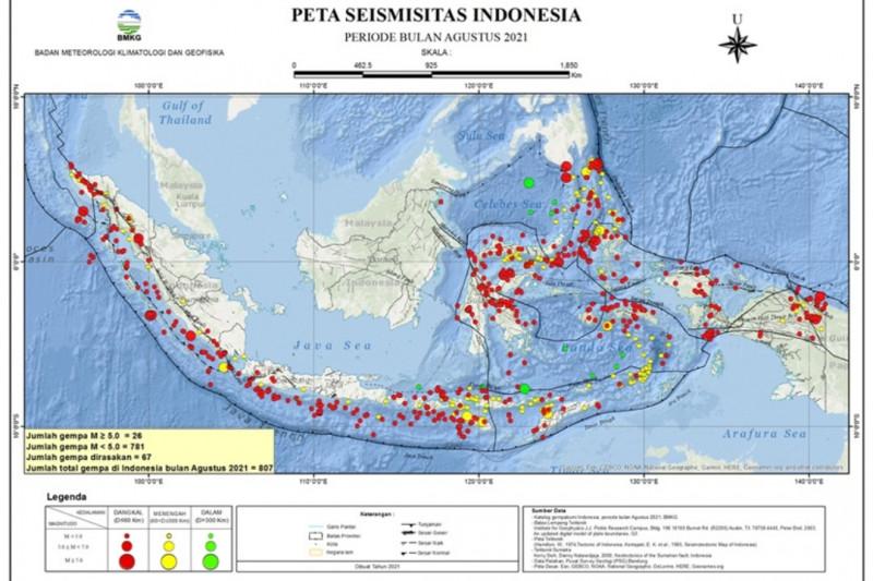 Gempa bermagnitudo 3,2 terjadi di Lombok Utara