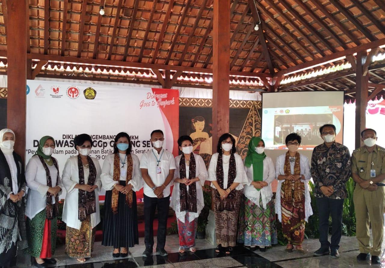 Pusat Pengembangan SDM dan Dekranas gelar pelatihan masyarakat di Bayat