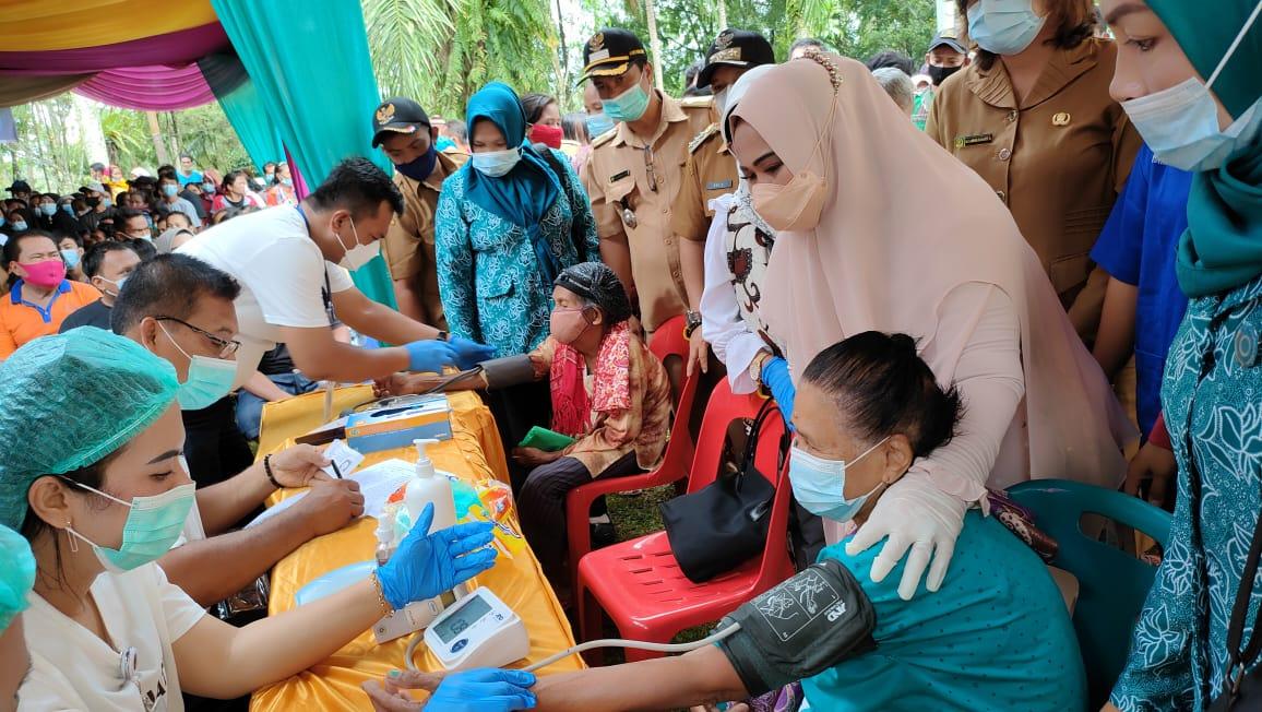 Ketua TP PPK Langkat minta kepala desa dan lurah data warga ikut vaksin
