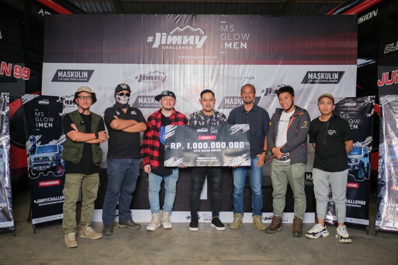 Ms Glow For Men berikan hadiah terbesar di Indonesia dalam Event Jimny Challenge 2020