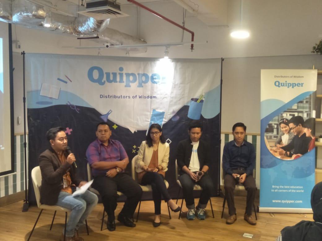 Kolaborasi dengan Dinas Pendidikan, Quipper gelartry out online terbesar di 2020
