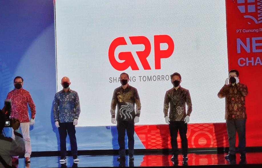Tepat 50 Tahun, GRP luncurkan logo baru