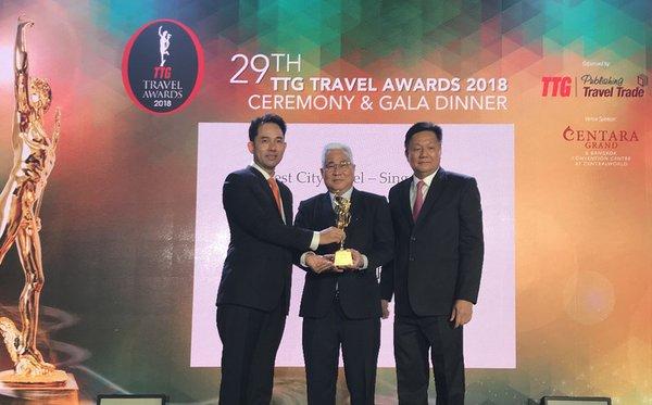 Mandarin Orchard Singapore raih penghargaan Best City Hotel di Singapura yang keenam kali