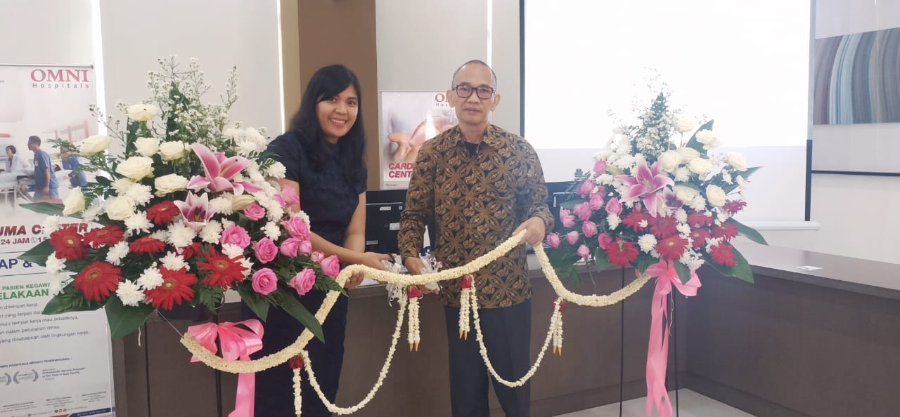 Omni Hospitals Pekayon resmikan counter pelayanan BPJS Ketenagakerjaan