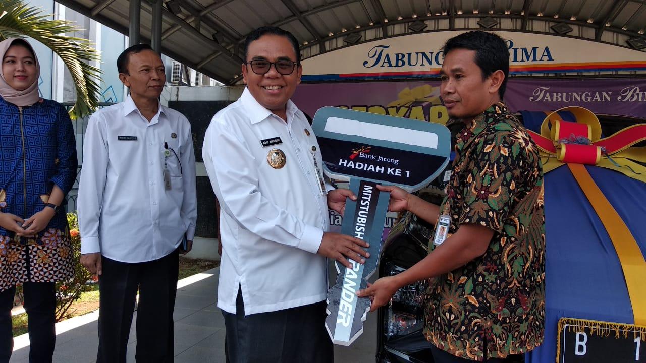Bank Jateng bagi-bagi hadiah undian Tabungan Bima