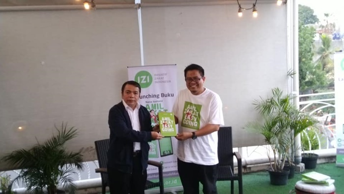 Bedah buku `Amil Zakat Easy Going`