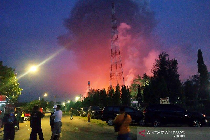 Kilang minyak Pertamina di Balongan Indramayu dilalap si jago merah