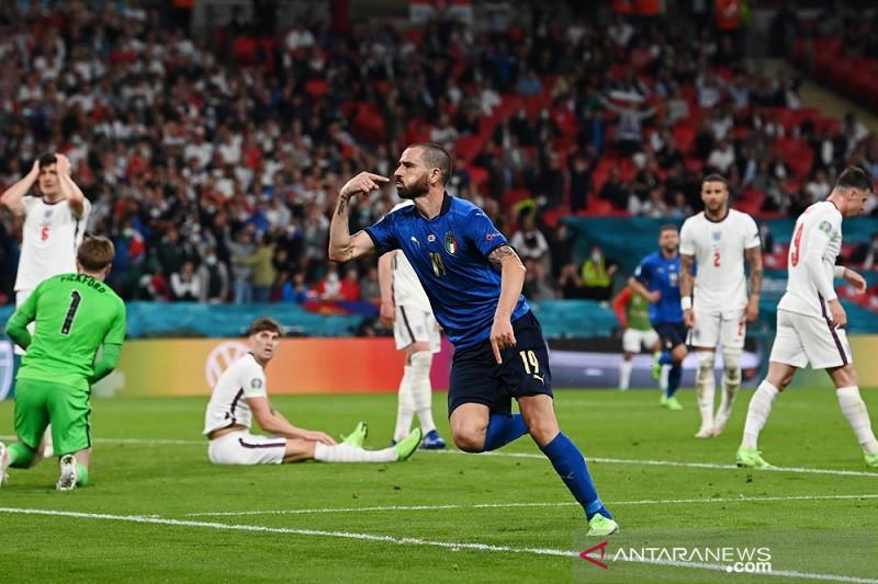 Italia jadi jawara eropa usai mengalahkan Inggris lewat adu penalti
