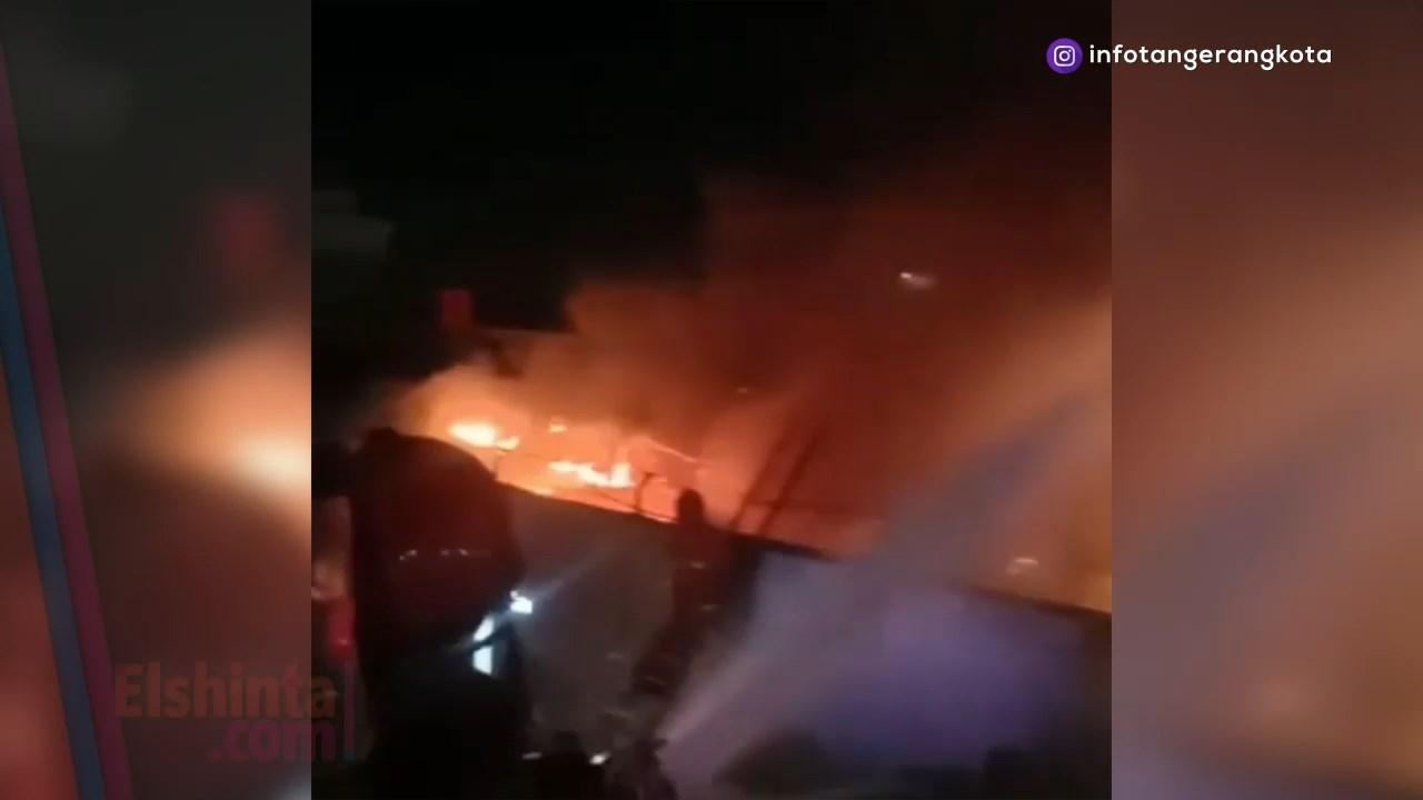 Penyebab kebakaran Lapas Kelas 1 Tangerang