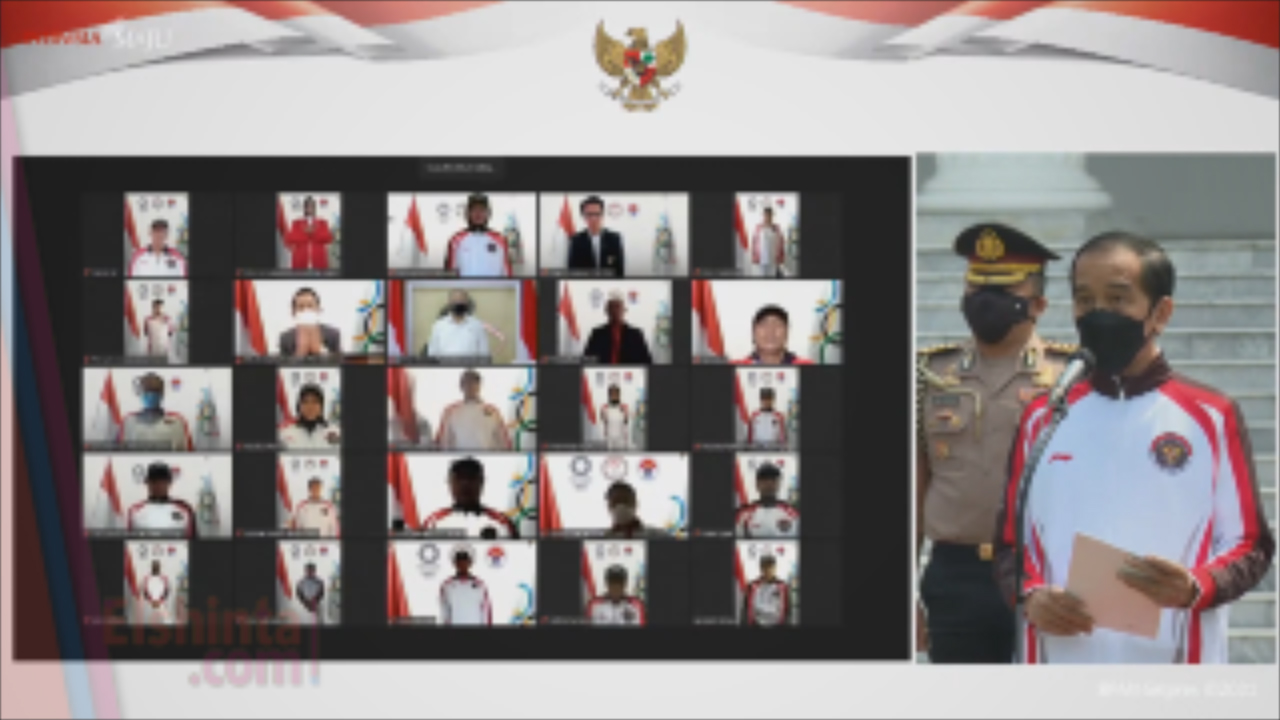 Pelepasan Tim Indonesia menuju Olimpiade Tokyo 2021