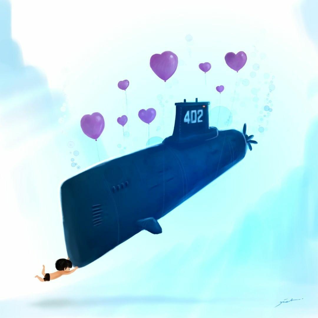 Viral - video awak kapal selam Nanggala 402