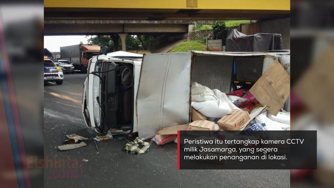 Kecelakaan di Cibitung KM 25+200 arah Cikampek