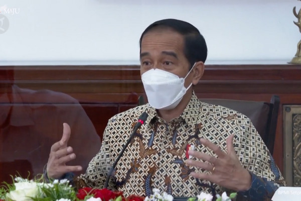 Jokowi resmi memperpanjang PPKM